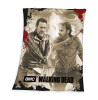 The Walking Dead Negan and Rick Fleece Blanket