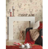 Richmond Highland Stag Wallpaper - 98010 Cranberry