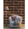 Bookcases Wallpaper - Brown 11950 Holden