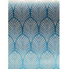 Teal Gatsby Art Deco Wallpaper Holden Decor 65253