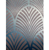 Art Deco Gatsby Wallpaper Teal Holden Decor 65253