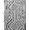 Sequins Opus Geo Wallpaper Silver and Dark Grey Holden Decor 35564