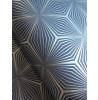 Holden Geometric Star Wallpaper Silver / Blue 12617