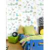 Holden Dino Town Dinosaur Wallpaper Grey / Teal 12531