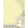 Holden Chevron Zig Zag Wallpaper Yellow 12573