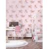 Sfondo di Unicorni Iridescenti Oltre l'Arcobaleno Rosa / Oro rosa Holden 90951
