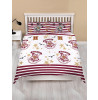 Harry Potter Muggles Double Duvet Cover and Pillowcase Set - Rotary Design