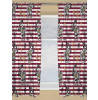 Harry Potter Muggles Curtains 72in Drop