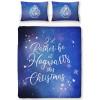 Harry Potter Celestial Double Christmas Duvet Cover Set
