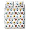 Harry Potter Stickers Double Duvet Cover Set