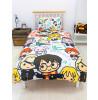 Harry Potter Scene Single Duvet Cover and Pillowcase Set