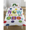 The Very Hungry Caterpillar ABC Single Reversible Duvet Cover Set
