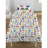 The Very Hungry Caterpillar ABC Single Reversible Bedding Set