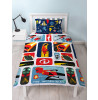 Incredibles 2 Retro Single Duvet Cover Bedding Set