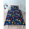 Incredibles 2 Retro Single Reversible Duvet Cover Set