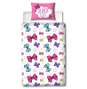 JoJo Bows Single Duvet Cover and Pillowcase Set