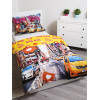 New York Times Square Single Duvet Cover and Pillowcase Set