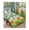 Jungle-Tastic 4 in 1 Junior Bedding Bundle (Duvet and Pillow and Covers)