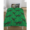 Jurassic Predators Dinosaurs Single Reversible Duvet Cover Bedding Set