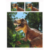 Dinosaur Jurassic T-Rex Double Duvet Cover Set - Exclusive Design