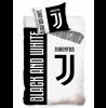Juventus FC Black and White Single Duvet Cover Set 100% Cotton
