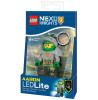 Lego Nexo Knights Aaron Keylight Portachiavi con scudo Power Code