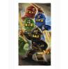 Lego Ninjago Quadrant Towel