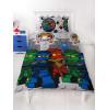Lego Ninjago Castle Single Duvet Cover and Pillowcase Set