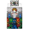 Lego Ninjago Castle Single Rotary Duvet Cover Bedding Set