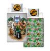 Lego Jurassic World Dinosaur Single Duvet Cover and Pillowcase Set