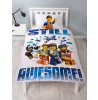 Lego Movie 2 Action Single Duvet Cover and Pillowcase Set