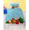 Lego Minifigures HoHoHo Single Christmas Duvet Cover Set