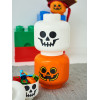 Lego Large Pumpkin Storage Head