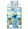 Lego City On The Run Single Duvet Cover Set - Rotary Design