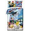 Lego City Rescue Crew Single Duvet Cover Set - European Size