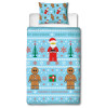 Lego Minifigures Sweater Single Christmas Duvet Cover Set