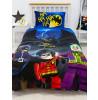 Lego DC Superheroes Challenge Single Duvet Cover Set