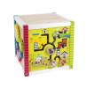 Leomark Cube d'activités de labyrinthe en bois avec boulier