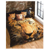 Leopard Double Duvet Cover and Pillowcase Set