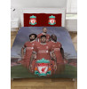 Liverpool FC Players Double Duvet Cover and Pillowcase Set