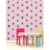 Papel tapiz rosa LOL Surprise WP4-LOL-FRD-12