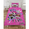 LOL Surprise Sing It Single Duvet Cover and Pillowcase Set