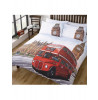 London Bus and Big Ben King Size Duvet Cover Bedding Set