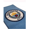 Manchester City FC Crest Floor Rug Bedroom