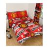 Manchester United FC Completo copripiumino matrimoniale e set federa