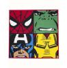 Marvel Comics Tappeto da pavimento in kit da 1 camera da letto