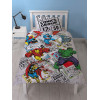 Marvel Comics Retro Single Duvet Cover and Pillowcase Set