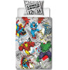 Marvel Comics Retro Single Panel Duvet Cover and Pillowcase Set