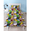 Marvel Comics Scribble Single Reversible Duvet Cover Set