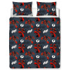 Marvel Deadpool Wahoo Double Duvet Cover and Pillowcase Set